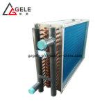 Plaque de cuivre Fin Système de refroidissement en aluminium et échangeur de chaleur pour l'air de chauffage et ventilation