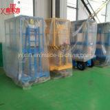 Hydraulischer doppelter Mast-Aluminiumaufzug des China-heißer Verkaufs-300kg 6-14m für 2 Leute mit preiswertem Preis