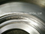 """"""" molde del tubo del cristal de exposición del torno del CNC 12"""