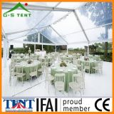 従来の祝祭の透過結婚式の玄関ひさしのイベント党テント