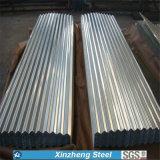 Feuille de toiture de la toiture Sheet/PPGI d'Aluzinc galvanisée par feuille de toiture en métal