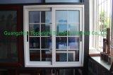 Isolação térmica deslizante de alumínio Windows do escritório com vidro refletido