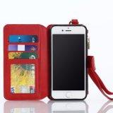 Handy-faltbarer Deckel-Mappen-Leder-Kasten für iPhone 7
