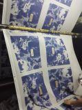 Bolso caliente del algodón de las compras del totalizador del sello de la impresión de oro