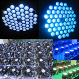 54PCS RGB de 3 watts cambio de colores LED PAR64 luces del partido barato