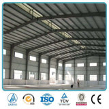 Edificio prefabricado modificado para requisitos particulares del almacén del taller de la fábrica del bajo costo de la estructura de acero