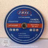 金属または鋼鉄180X3X22.2のための研摩の切断ディスク