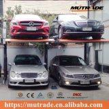 Alta calidad y máquina hidráulica del estacionamiento de barato dos postes