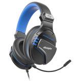 O novo modelo privado exclusivo fones de ouvido para jogos para PS4 do calculador com luz LED de microfone