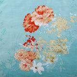 Fornecedor da China barata quarto King Queen Algodão impressa carpete sheet