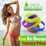 Jamaica de encargo imprimió el Wristband del silicón para el reloj de goma de la promoción