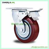 Muebles pequeños Nylon silla de rueda de color negro