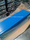 Métal Sheet/665mm Ibr d'onde d'eau/feuille ondulée toiture de couleur