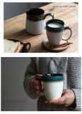 Desayuno leche Pot taza de té y gres