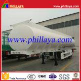 de 3axle 40cbm del combustible de la gasolina de palma de petróleo del tanque acoplado crudo semi