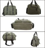 Armee-Grün Weinlese PU-Canvas Messenger Bag