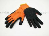 Латекс покрыл трудные защитные перчатки работы пользы зимы