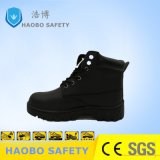 Высокая лодыжки натуральная кожа сталь Toe полиции обувь