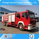 Vente à chaud de haute qualité Sinotruk 6X4 camion de pompiers pour la vente