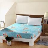 Hoja ajustada Cotton barata de rey Bedroom Printed de la reina del surtidor de China
