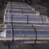 UHP/HP/Np de GrafietElektroden van de Koolstof van de Cokes van de Naald van de Rang voor de Uitsmelting van de Oven van de Elektrische Boog