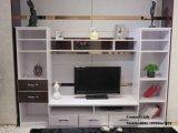 Белая прогулка меламина PVC в шкафе (ZH0007)