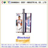 PVC 코드 기치 Blockout 기치를 인쇄하는 선전용 디지털