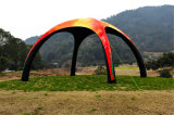 tenda gonfiabile della cupola della stampa di marchio di 5X5m 6X6m Customed