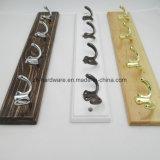 Усовершенствованная красивых крючок для одежды деревянные и металлические платы крюк (ZH-7003)