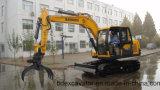 Excavadores de la correa eslabonada de Baoding con el gancho agarrador para la venta