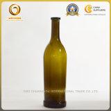 бутылка бутылочного стекла вина плоского дна 750ml (1147)