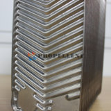 효과적인 Heat&Cooling 니켈에 의하여 놋쇠로 만들어지는 격판덮개 열교환기