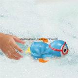 Munchkin beëindigt het Zwemmende Blauwe Stuk speelgoed van het Bad van de Pinguïn,