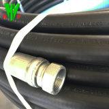 Mangueras de alta pressão 250 bar Mangueira de borracha flexível de borracha de esgoto leve