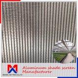 Длина 10 м~100м внешнего климата алюминия тени ткань для выбросов парниковых газов