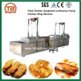 Equipamento de frango frito frango fritura contínua máquina de guarda-lamas