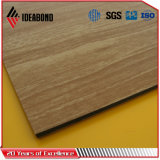 Ideabond美しいデザイン木の質の内壁ACP