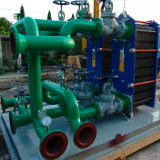 기름 냉각기 민물 프로세스 물 냉각을%s Tr 시리즈 Gasketed 격판덮개 열교환기