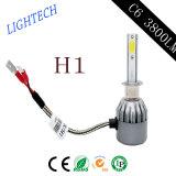 가장 새로운 디자인 하이라이트 콘덴서 H4 4800lm 차 LED 헤드라이트 50W 자동차 램프