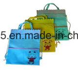 L'impression bon marché de logo des prix d'approvisionnement approuvé d'usine badine le sac de cordon