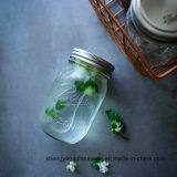 De fabriek verstrekt de Fles van het Glas/direct de Kruik van de Metselaar/de Kruik van het Glas voor het Voedsel van de Opslag