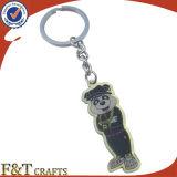 Animale poco costoso a forma di facendo pubblicità al metallo Keychains (FTKC1842A) della foto di Digitahi