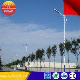 Grande lumière solaire de la rue LED de l'économie d'énergie 6m Polonais 30W