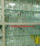 Flessen van het Glas van de alcoholische drank de Mens Gemaakte