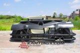 270cc go-kart die Kart F1 6.5HP met Natte koppeling rennen