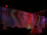 3 x 4 DJの段階の背景幕のためのm。p. 10 RGB LEDのビデオカーテン
