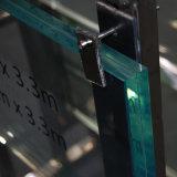 15мм УФ защита Super Clear закаленного ламинированного стекла