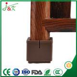 Tampas da perna de borracha e Protector de cadeiras e mesas, etc (quadrado) (Marrom), totalmente personalizável