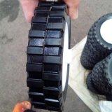 6 Polegadas Semi-Pneumatic roda de borracha para o Compressor de Ar