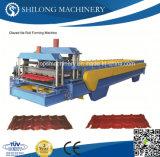 機械を形作る油圧自動カラー鋼板の艶をかけられた屋根瓦のボードのパネルロール